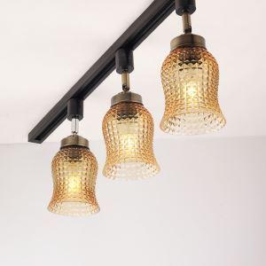 スポットライト ダクトレール用照明 天井照明 玄関照明 北欧風 簡単取付 LED電球付