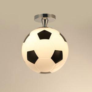 シーリングライト 玄関照明 天井照明 子供屋照明 サッカー造形 1灯