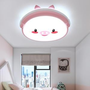 LEDシーリングライト 照明器具 子供屋照明 寝室 リビング 居間 オシャレ 子豚型 LED対応 MSXD056
