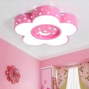LEDシーリングライト 照明器具 子供屋照明 寝室 リビング 居間 オシャレ 花型 星&月柄 LED対応 MSXD086
