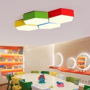 LEDシーリングライト 照明器具 子供屋照明 寝室 リビング 居間 オシャレ 六角形 LED対応 MSXD015