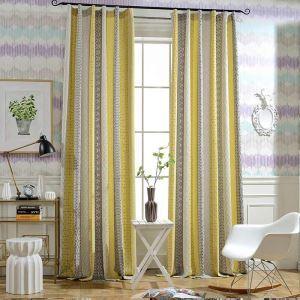 遮光カーテン オーダーカーテン ジャカード 色組み立て オシャレ 綿麻(1枚)