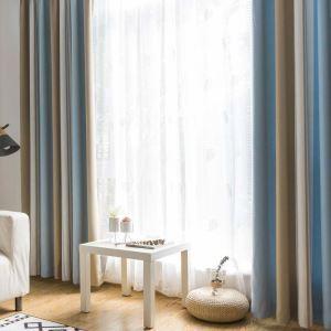 遮光カーテン オーダーカーテン ジャカード 色組み立て オシャレ(1枚)