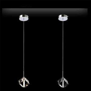 ペンダントライト 照明器具 玄関照明 ダイニング照明 オシャレ クリスタル 1灯 HL0108