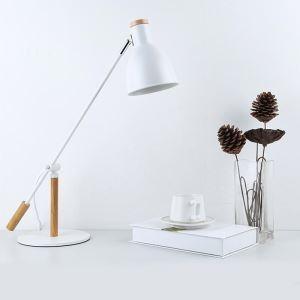 テーブルランプ スタンドライト 書斎照明 卓上照明 読書灯 子供屋 北欧風 白色/黒色 1灯 QM3094