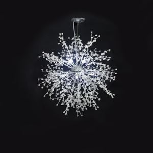 LEDペンダントライト 照明器具 天井照明 リビング照明 放射状 8/12/16灯 LED対応