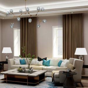 高遮光カーテン オーダーカーテン 寝室用 濃褐色 オシャレ 高精密(1枚)