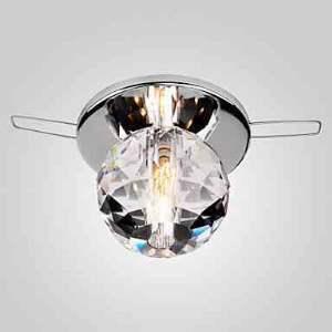 LEDシーリングライト 玄関照明 埋め込み式 ダウンライト クリスタル照明 照明器具 1灯 LED対応