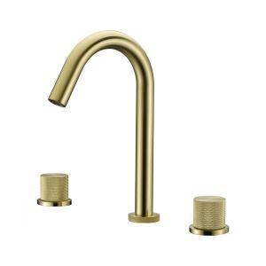 洗面蛇口 バス水栓 冷熱混合栓 手洗器蛇口 水道蛇口 水栓金具 2ハンドル 2色