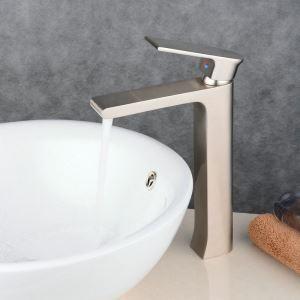 洗面水栓 バス蛇口 冷熱混合水栓 水道蛇口 手洗器水栓 ヘアライン BL6308HN