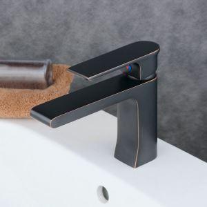 洗面水栓 バス蛇口 冷熱混合水栓 水道蛇口 手洗器水栓 ORB BL6308B