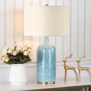 テーブルランプ スタンドライト 間接照明 デスクライト 陶器照明 リビング 寝室 書斎 玄関 オシャレ 1灯 HY103