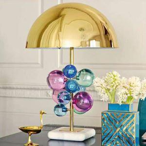 テーブルランプ スタンドライト 照明 寝室 彩色 オシャレ 1灯  HY266