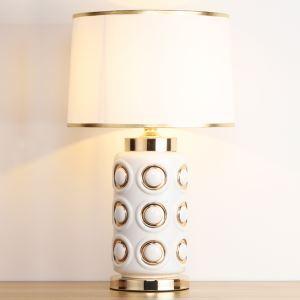 テーブルランプ デスクスタンド 枕元照明 ナイトライト 陶器 1灯 HY032