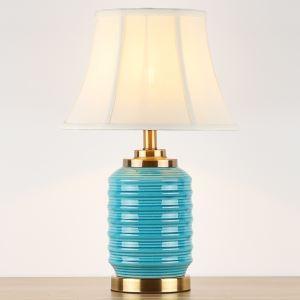 テーブルランプ デスクスタンド 枕元照明 ナイトライト 陶器 2色 1灯 HY059