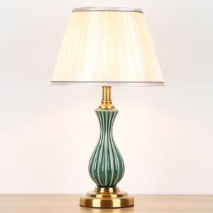 テーブルランプ デスクスタンド 枕元照明 ナイトライト 陶器 1灯 HY046