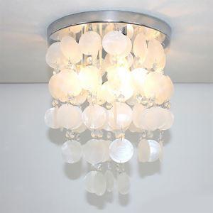 シーリングライト 玄関照明 子供屋照明 天井照明 シェル 3灯 D32