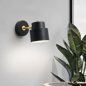 LED壁掛け照明 ブラケット 枕元照明 玄関照明 北欧 黒色白色 1灯 QM6602B