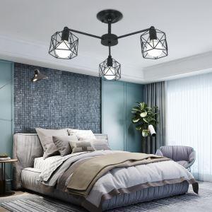 シャンデリア リビング照明 ダイニング照明 寝室照明 鳥かご型 北欧 QM81534