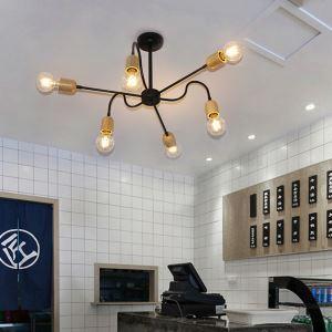 シャンデリア リビング照明 ダイニング照明 店舗照明 スパイダー型 北欧 6灯/8灯