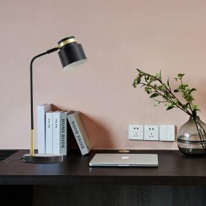LEDテーブルランプ スタンドライト 読書灯 書斎照明 北欧 LED対応 QM6828