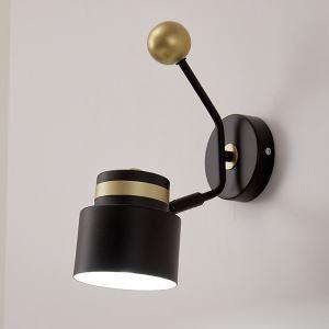 LED壁掛け照明 ブラケット 枕元照明 玄関照明 北欧 黒金色 1灯 QM6802