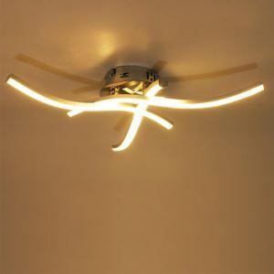 LEDシーリングライト 子供屋照明 玄関照明 天井照明 波型 3灯 C101