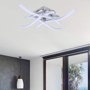 LEDシーリングライト 子供屋照明 寝室照明 天井照明 波型 4灯 C102