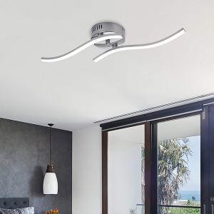 LEDシーリングライト 子供屋照明 寝室照明 玄関照明 波型 2灯/3灯/4灯 C126