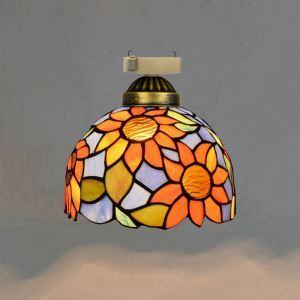 シーリングライト ステンドグラスランプ 店舗照明 玄関照明 簡単取付 D20cm 1灯 OFC1036