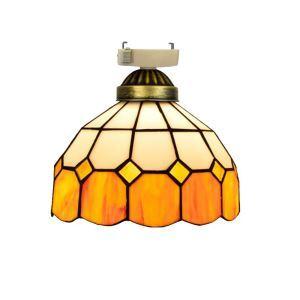 シーリングライト ステンドグラスランプ 店舗照明 玄関照明 簡単取付 D20cm 1灯 OFC1001
