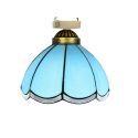 シーリングライト ステンドグラスランプ 店舗照明 玄関照明 簡単取付 D20cm 1灯 OFC1029