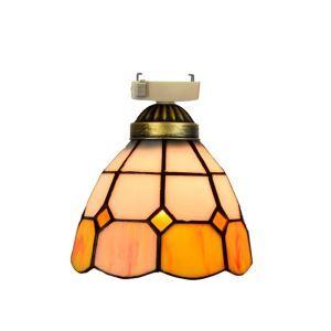 シーリングライト ステンドグラスランプ 玄関照明 店舗照明 簡単取付 D15cm 1灯 OFC1030