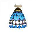 シーリングライト ステンドグラスランプ 玄関照明 店舗照明 簡単取付 D15cm 1灯 OFC1012