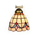 シーリングライト ステンドグラスランプ 玄関照明 店舗照明 簡単取付 D15cm 1灯 OFC1015