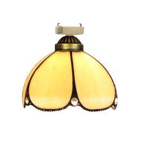 シーリングライト ステンドグラスランプ 店舗照明 玄関照明 簡単取付 D20cm 1灯 OFC1017