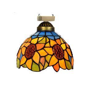 シーリングライト ステンドグラスランプ 店舗照明 玄関照明 簡単取付 D20cm 1灯 OFC1022