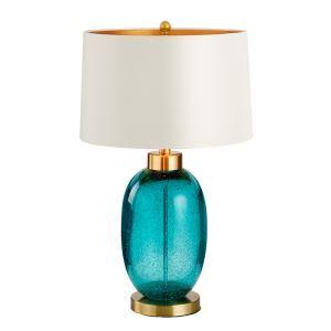 テーブルランプ スタンドライト 書斎照明 リビング照明 瑠璃  1灯 HY252