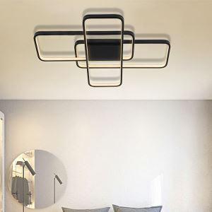 LEDシーリングライト リビング照明 ダイニング照明 寝室照明 幾何型 2色 LB0524