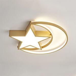 LEDシーリングライト リビング照明 子供屋照明 寝室照明 天井照明 星月型 LB0526