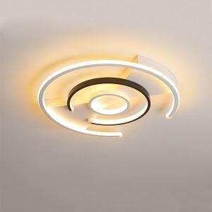 LEDシーリングライト リビング照明 ダイニング照明 寝室照明 天井照明 弧型 3輪 LB0405