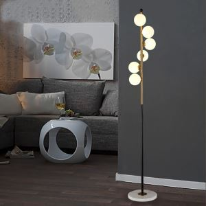 LEDフロアスタンド スタンドライト フロアランプ 間接照明 リビング 寝室 6灯 QM6886