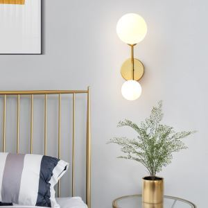LED壁掛け照明 ウォールライト ブラケット 玄関 寝室 北欧 黒色金色 2灯/4灯