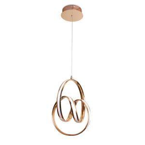 LEDペンダントライト 子供屋照明 ダイニング照明 寝室照明 天井照明 螺旋型 LB1037