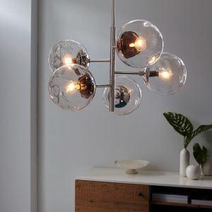 シャンデリア リビング照明 ダイニング照明 寝室照明 ガラス 北欧 QM99130