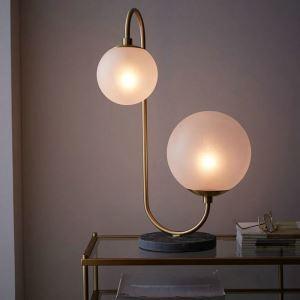 テーブルランプ スタンドライト ナイトランプ 書斎照明 創意 2灯 QM99157