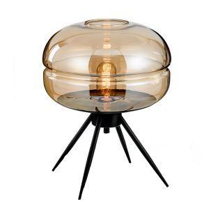 テーブルランプ スタンドライト 照明 寝室 ガラス 北欧 1灯 HY282