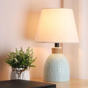 テーブルランプ デスクスタンド 枕元照明 ナイトライト 陶器 3色 1灯 HY011