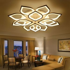 LEDシーリングライト 天井照明 リビング照明 寝室照明 花びら型 LED対応