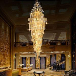 ペンダントライト 天井照明 吹き抜け照明 ホテル照明 クリスタル 豪華 オシャレ LS91332